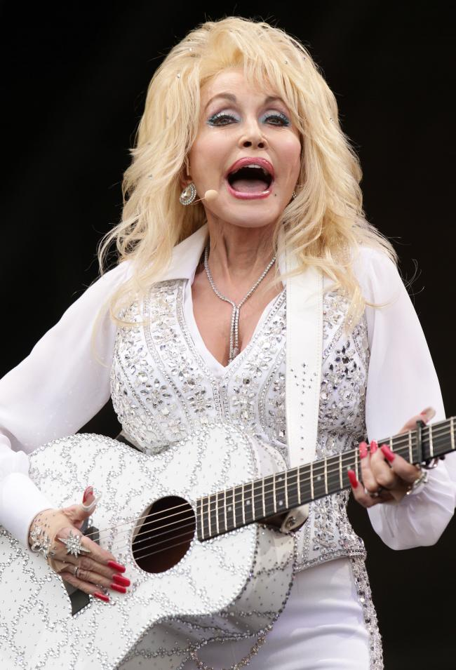 Dolly Parton, whose donation helped fund a new coronavirus vaccine