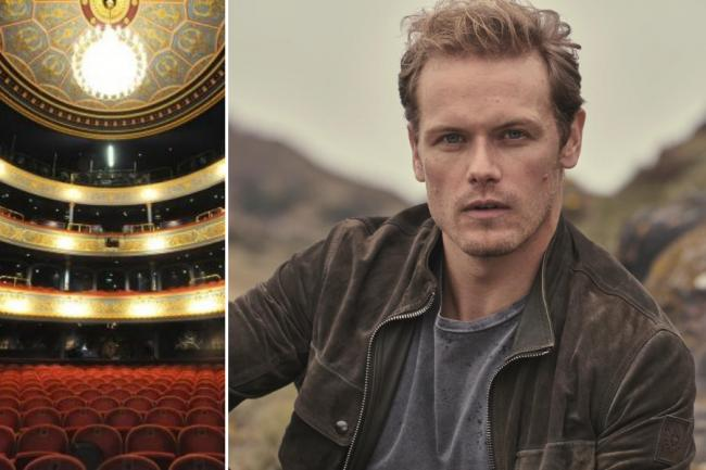 Outlander's Sam Heughan inspires fundraising duo to raise $60,000 for Lyceum Theatre