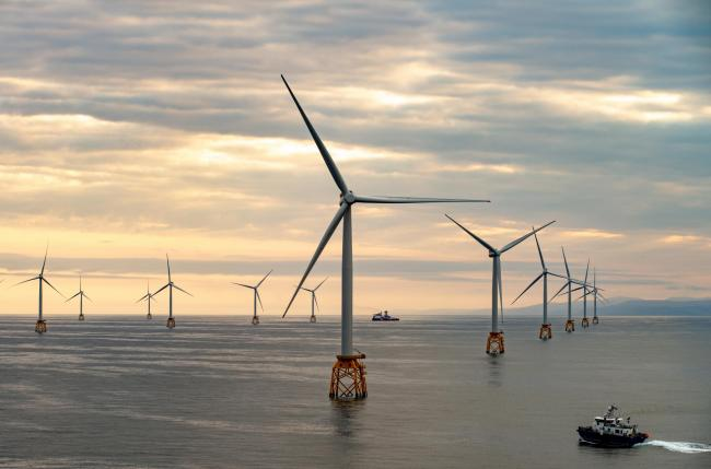 SSE completed development work on the giant Beatrice wind farm off the Caithness coast last year. Picture: SSE