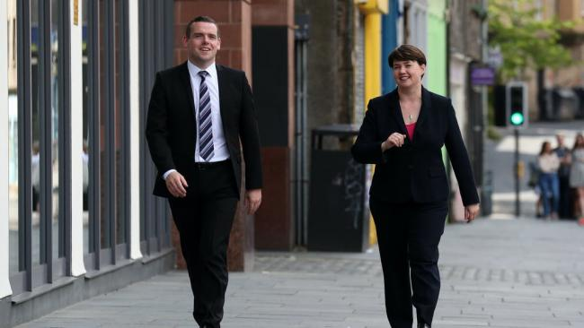 'Douglas Ross knows what it takes to beat the nationalists' Ruth Davidson insists there is 'no one she's prouder to serve' than Douglas Ross