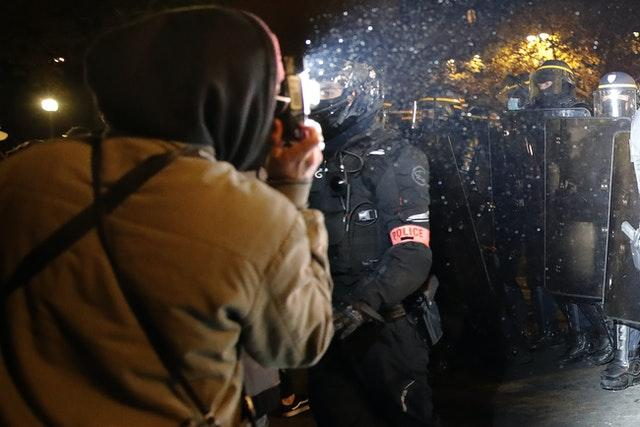 Protests in France against  bill to curb police identification