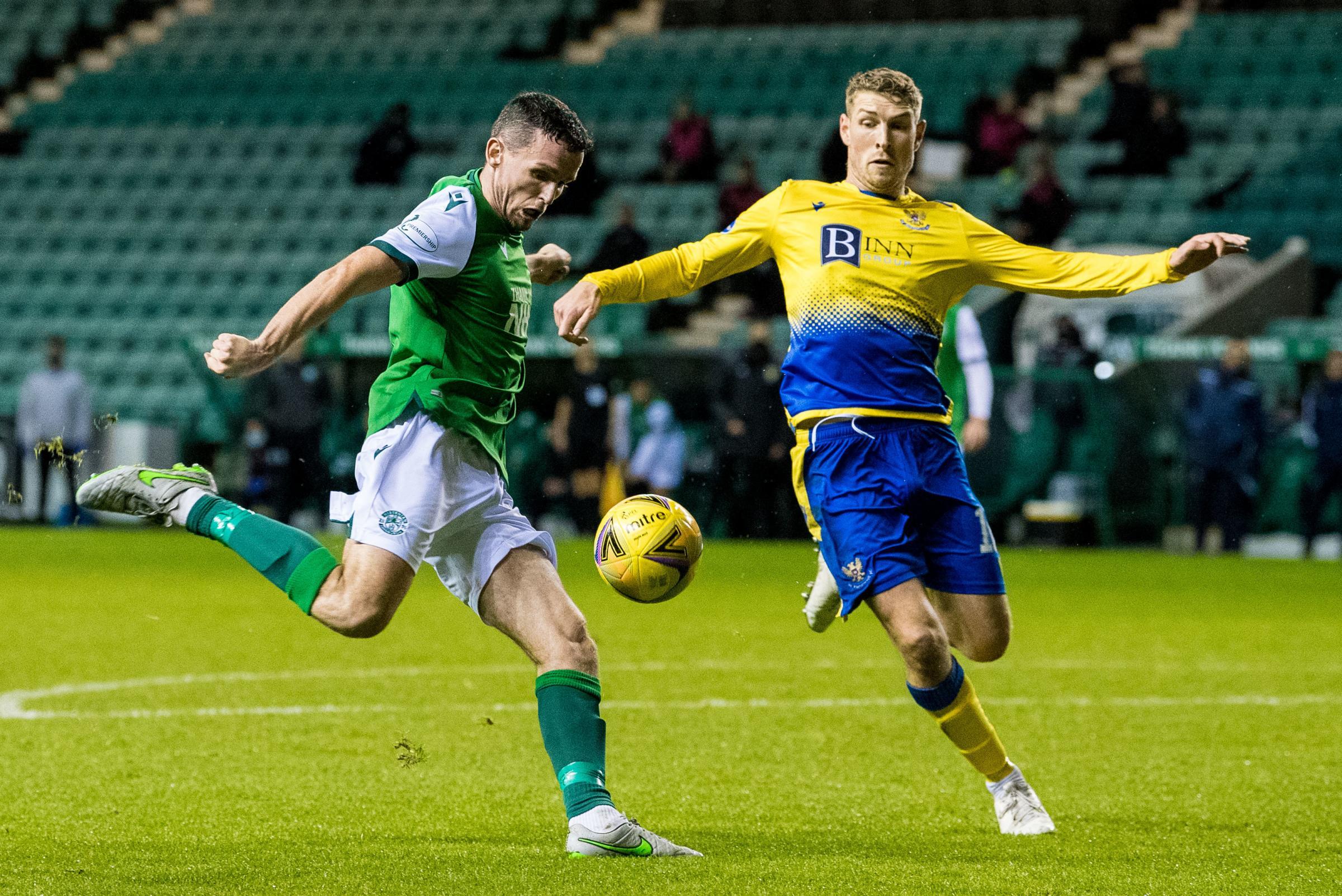 Hibs 2 St Johnstone 2: Jack Ross hails Paul McGinn after brace