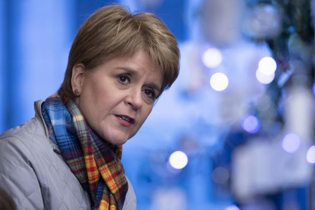 Nicola Sturgeon urges Scots not to meet other households over Christmas
