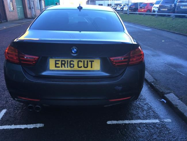 Eric Flack spotted this car in Finnieston and is curious to know if it belongs to a roving hairdresser.