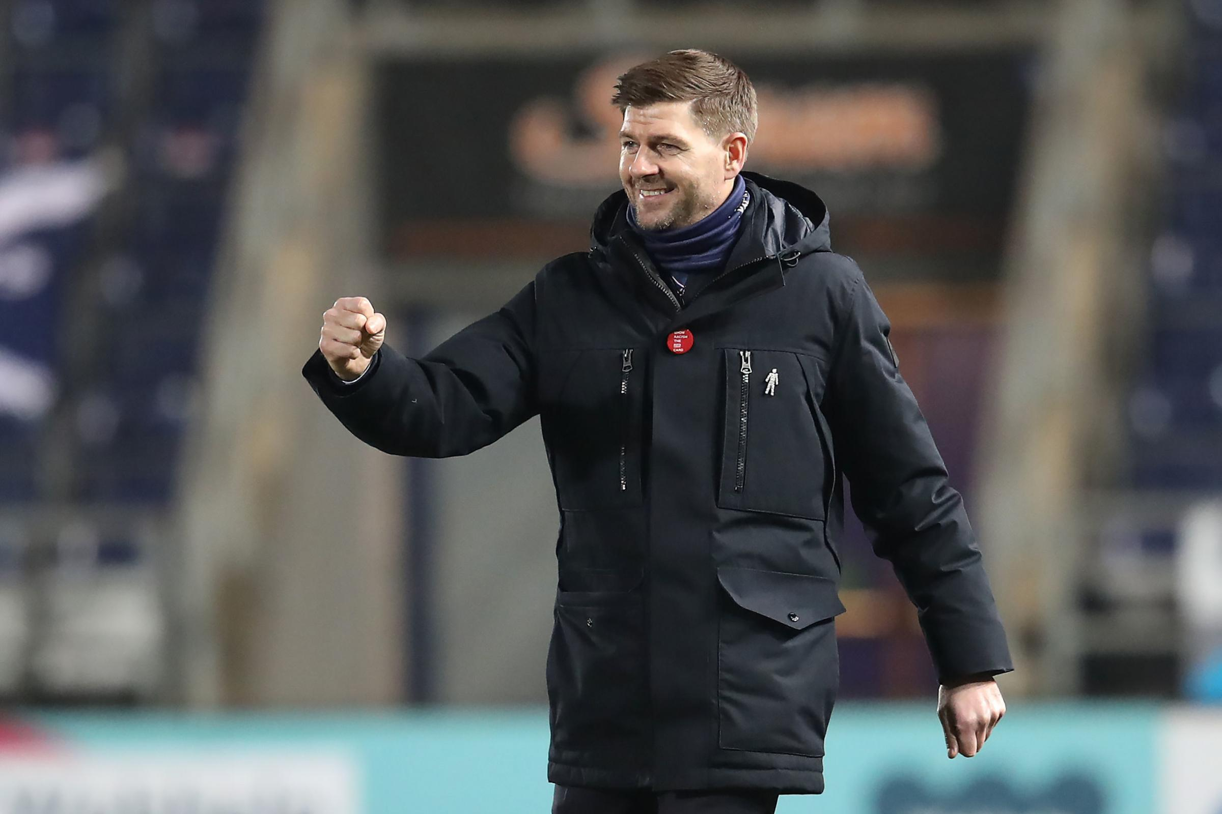 Steven Gerrard has high hopes for Rangers Academy duo after promising debuts in Betfred Cup win over Falkirk