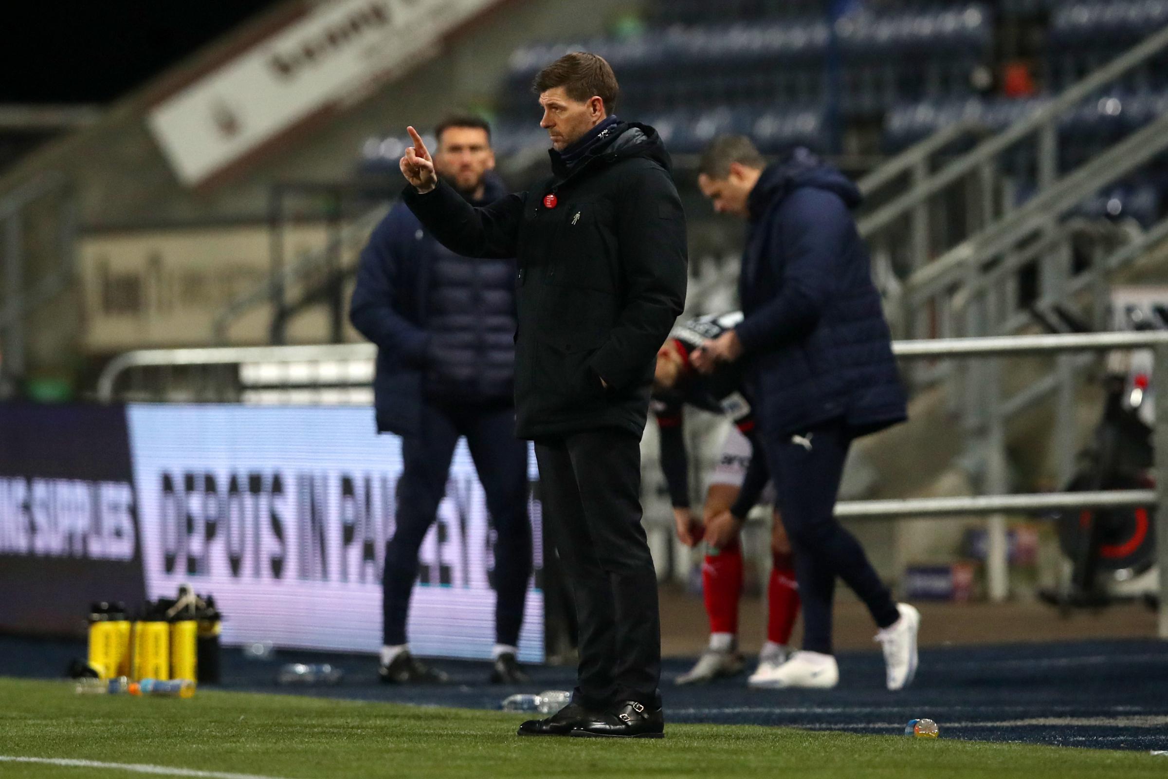 Steven Gerrard addresses Filip Helander's positive Covid test after Rangers see off Falkirk in the Betfred Cup