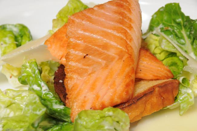 Salmon was included in the Crohns Disease trial diet by Glasgow University and the Royal Hospital for Children