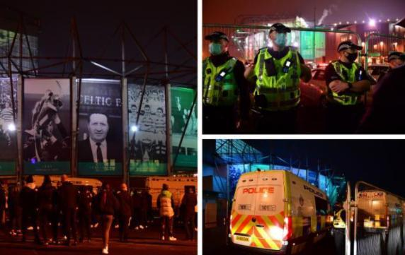Second man charged following protest outside Celtic Park
