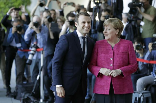 Why don't France's Emmanuel Macron and Germany's Angela Merkel fear losing national sovereignty through membership of the EU?
