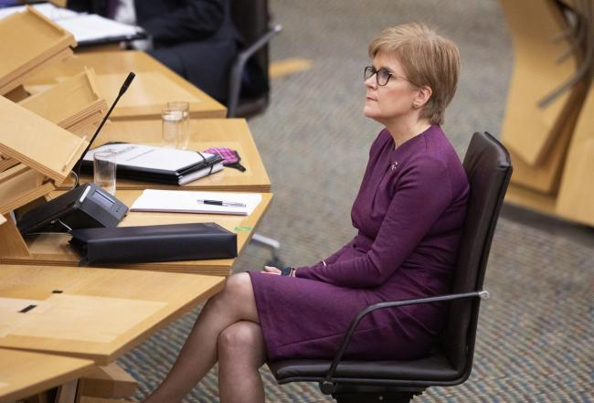 Nicola Sturgeon announces mini reshuffle after sacking public health minister