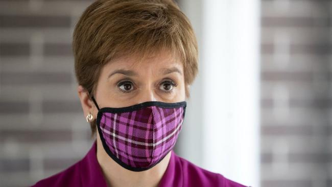 Nicola Sturgeon apologises for breaching Covid rules