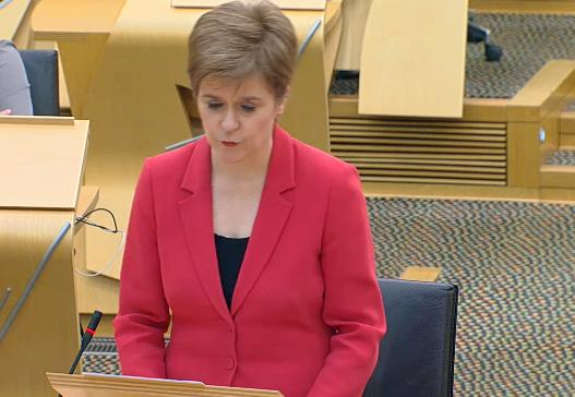 The First Minister said she was kicking herself