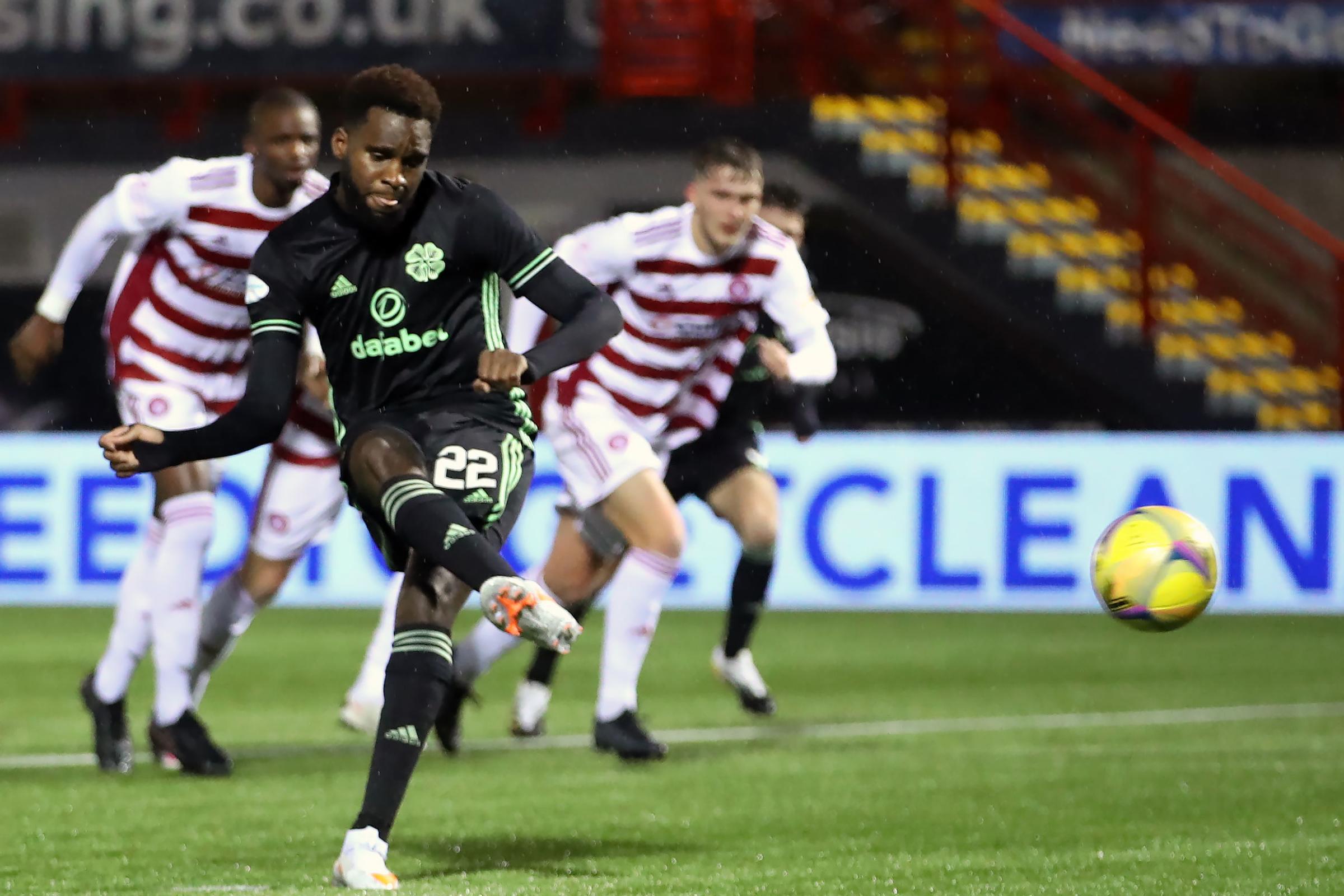 Hamilton 0 Celtic 3: Edouard finally sparks to life as Celts shrug off stubborn Accies