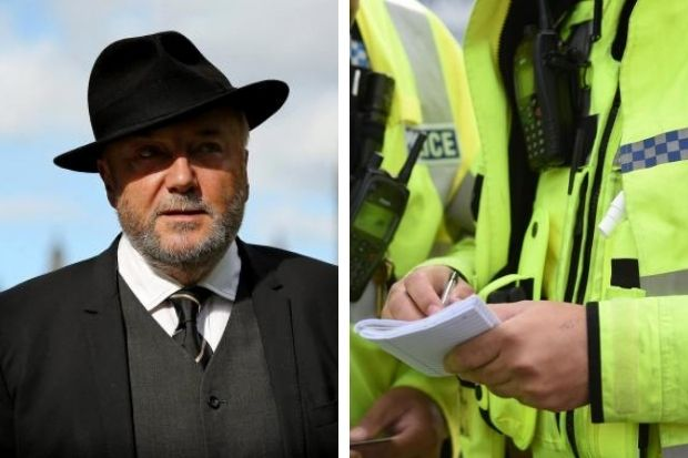George Galloway: Cops fire warning to Queen of the South over former Glasgow MP's controversial visit