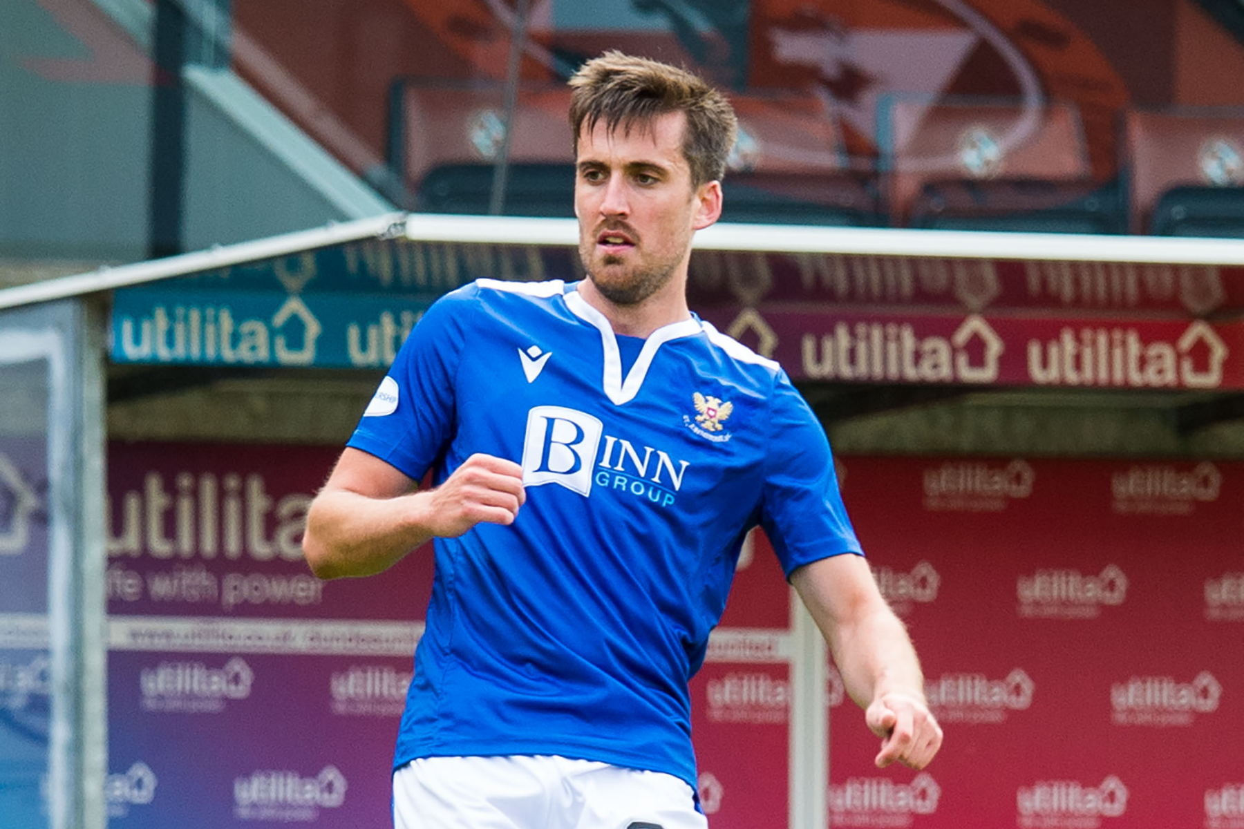 St Johnstone defender Callum Booth delighted to pen contract extension as he looks ahead to Hamilton test