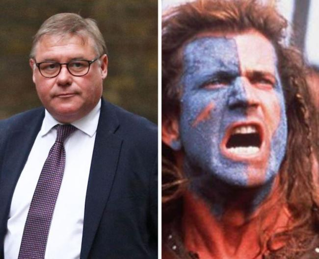 Mark Francois references Braveheart as he claims 'battle for Brexit' is over