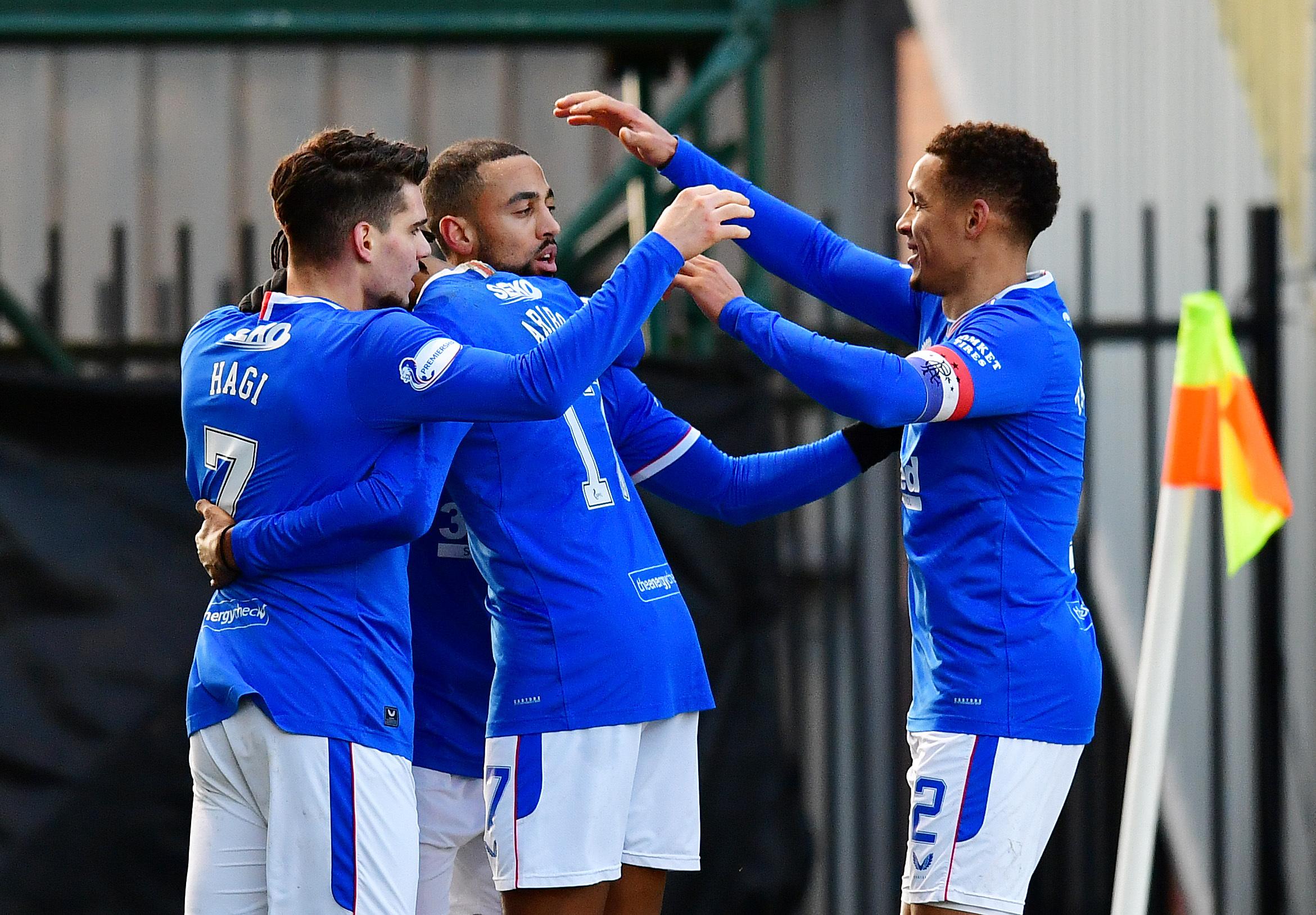 St Mirren 0-2 Rangers: Steven Gerrard's side make it 13 wins on the spin ahead of Old Firm showdown