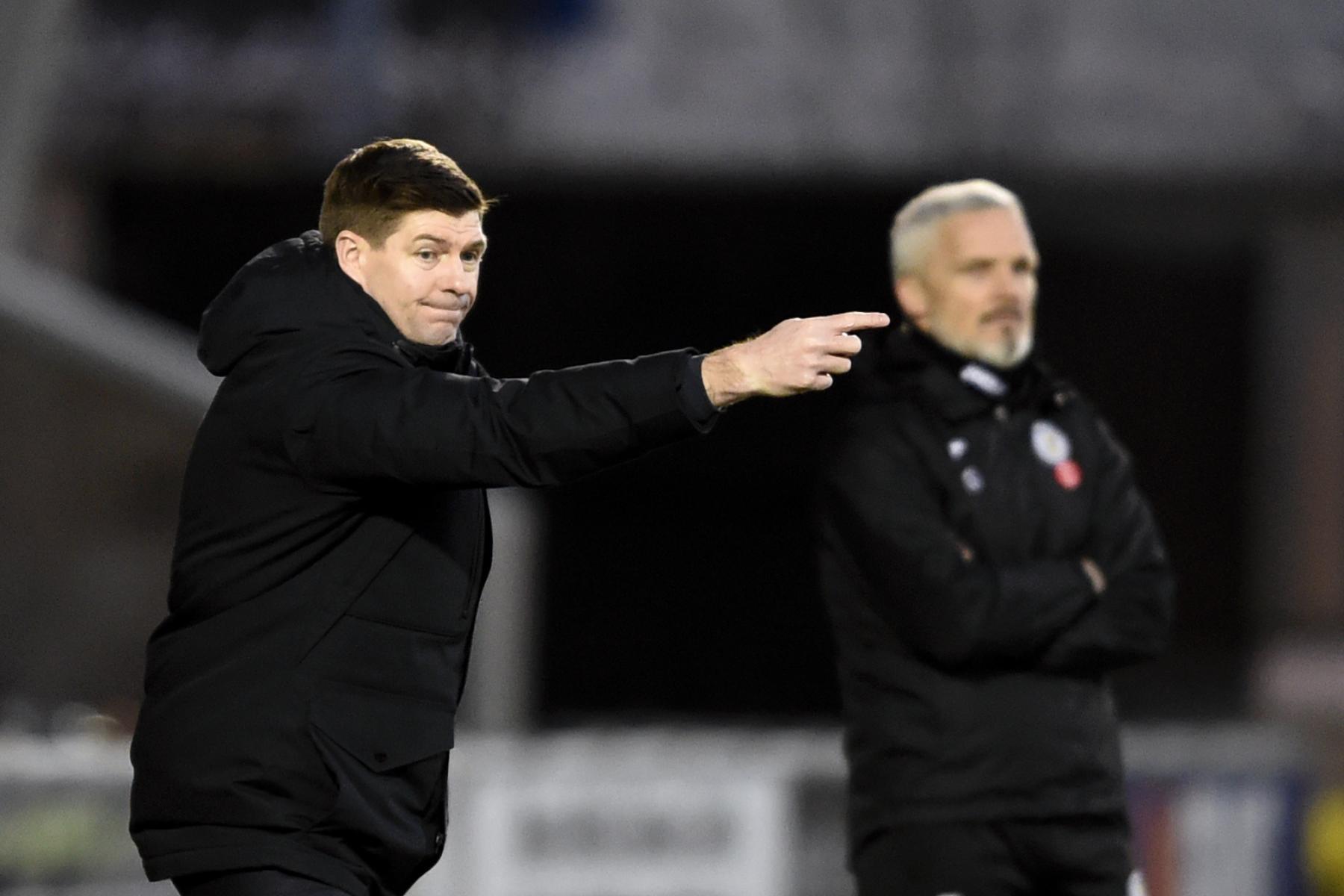 Steven Gerrard pleased despite 'patchy' Rangers performance against St Mirren