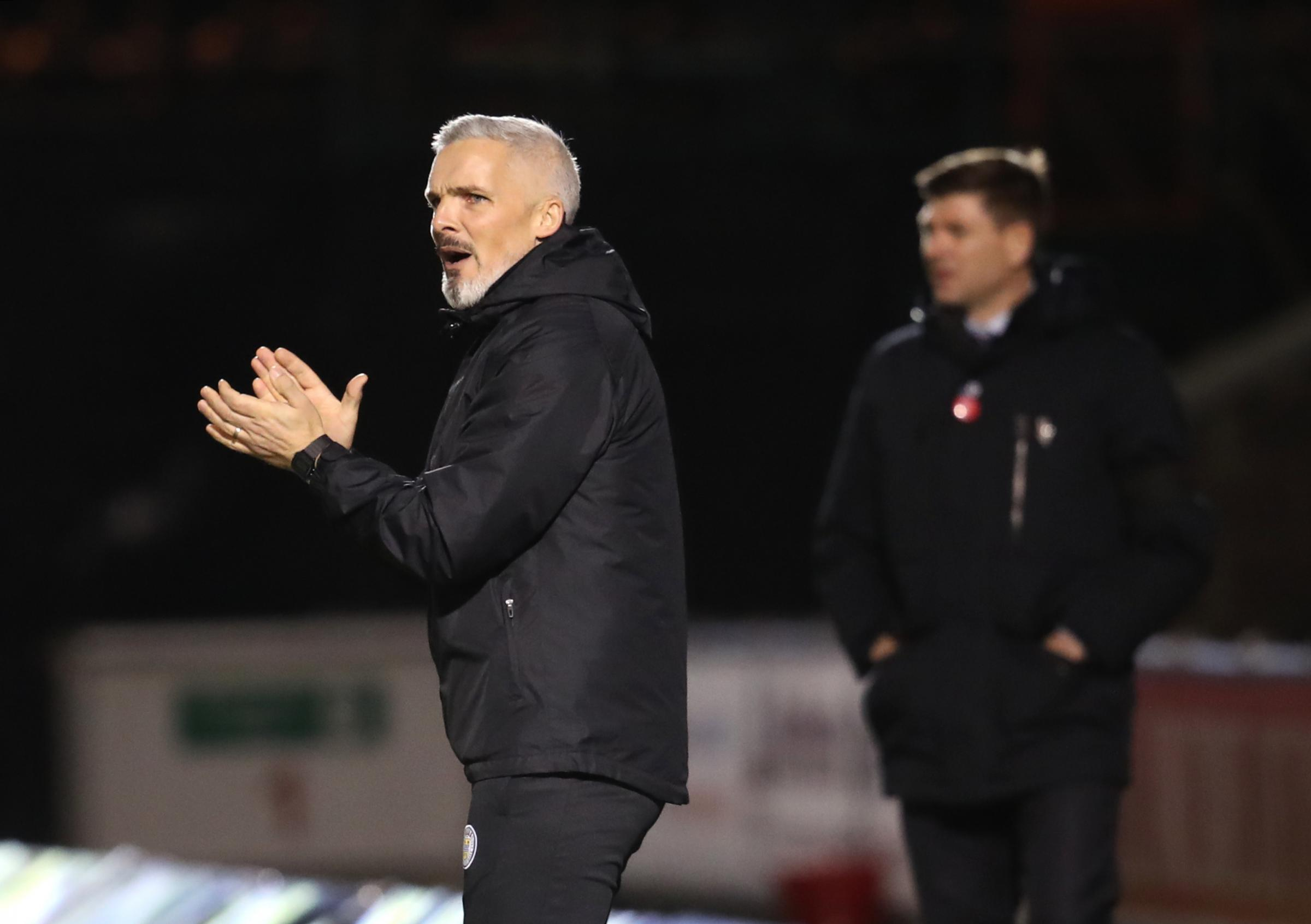 St Mirren boss Jim Goodwin frustrated as Saints lose out against Rangers