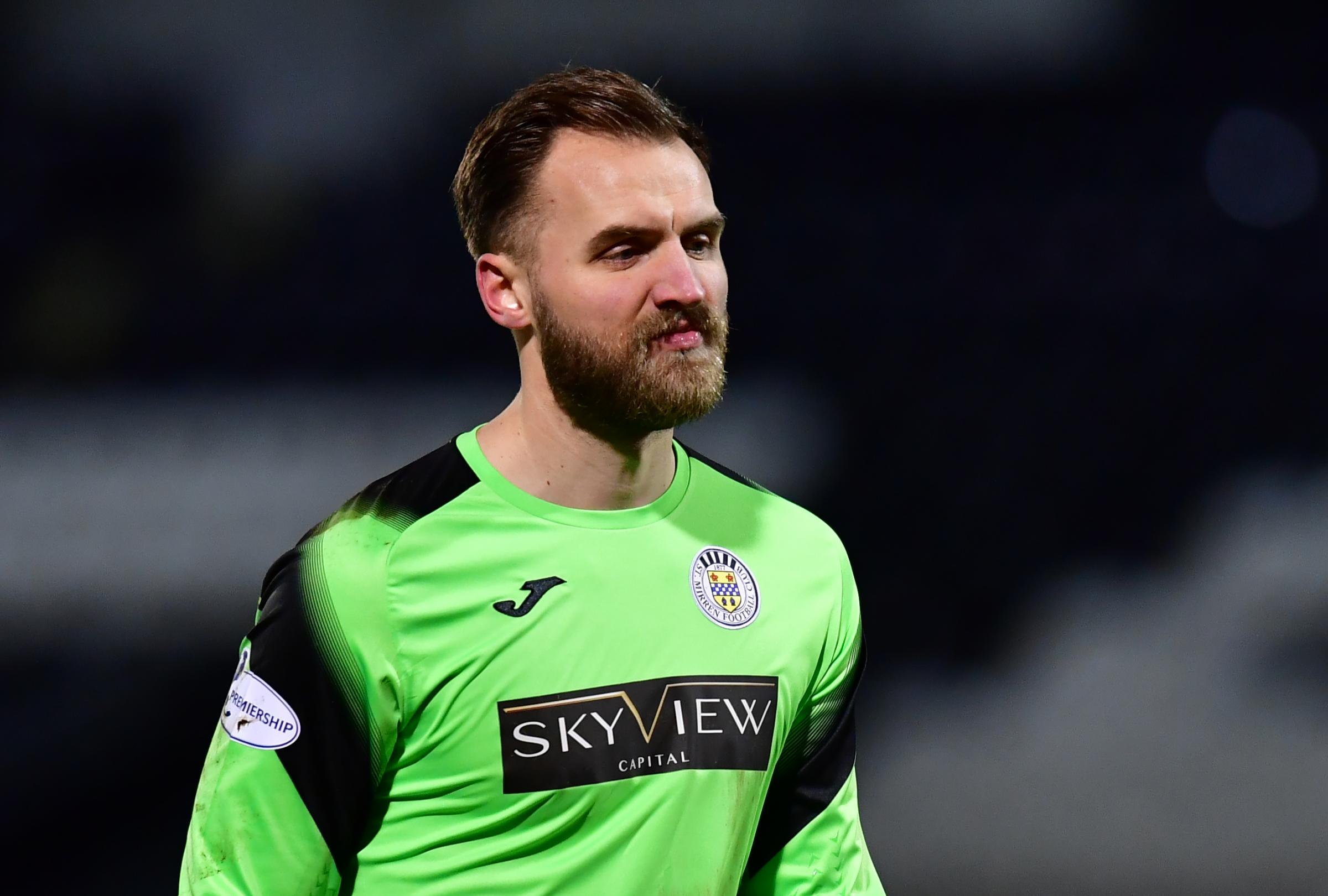 Jak Alnwick feels 'privileged' to be playing as keeper reflects on Covid costs and sets St Mirren targets for 2021