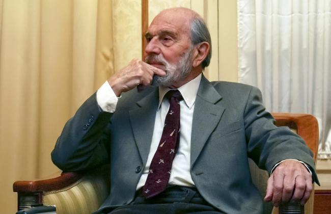 George Blake, photographed in Moscow in 2006.            AP Photo, File