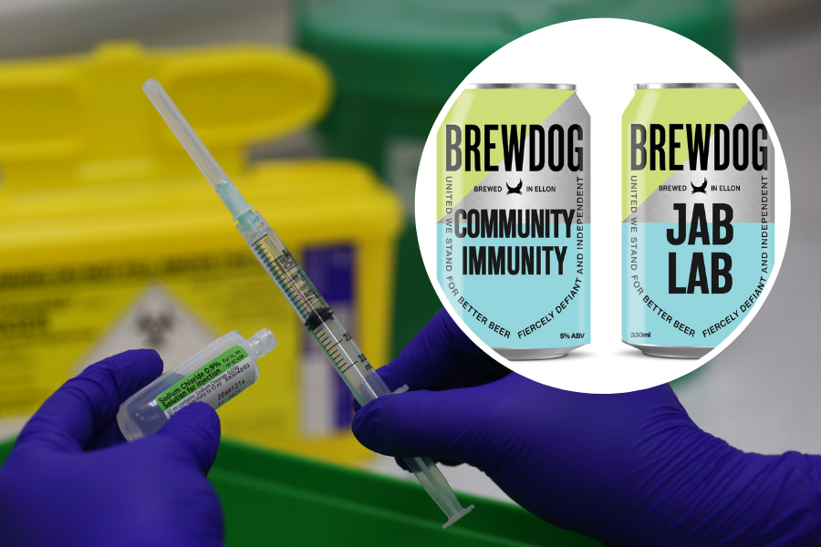 Vaccine Canteen or Jab Lab? BrewDog to give free beer to anyone who gets vaccinated in bar