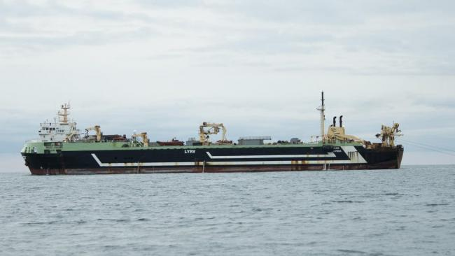 Greenpeace UK urge ban on supertrawlers  to protect marine areas