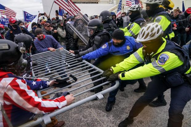 HeraldScotland: ACC Higgins said police would use the lessons learned from the Capitol Hill riots