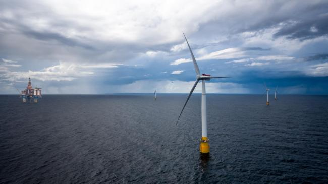 Wood is working on Equinor's Hywind Tampen floating windfarm off Norway Picture: Equinor