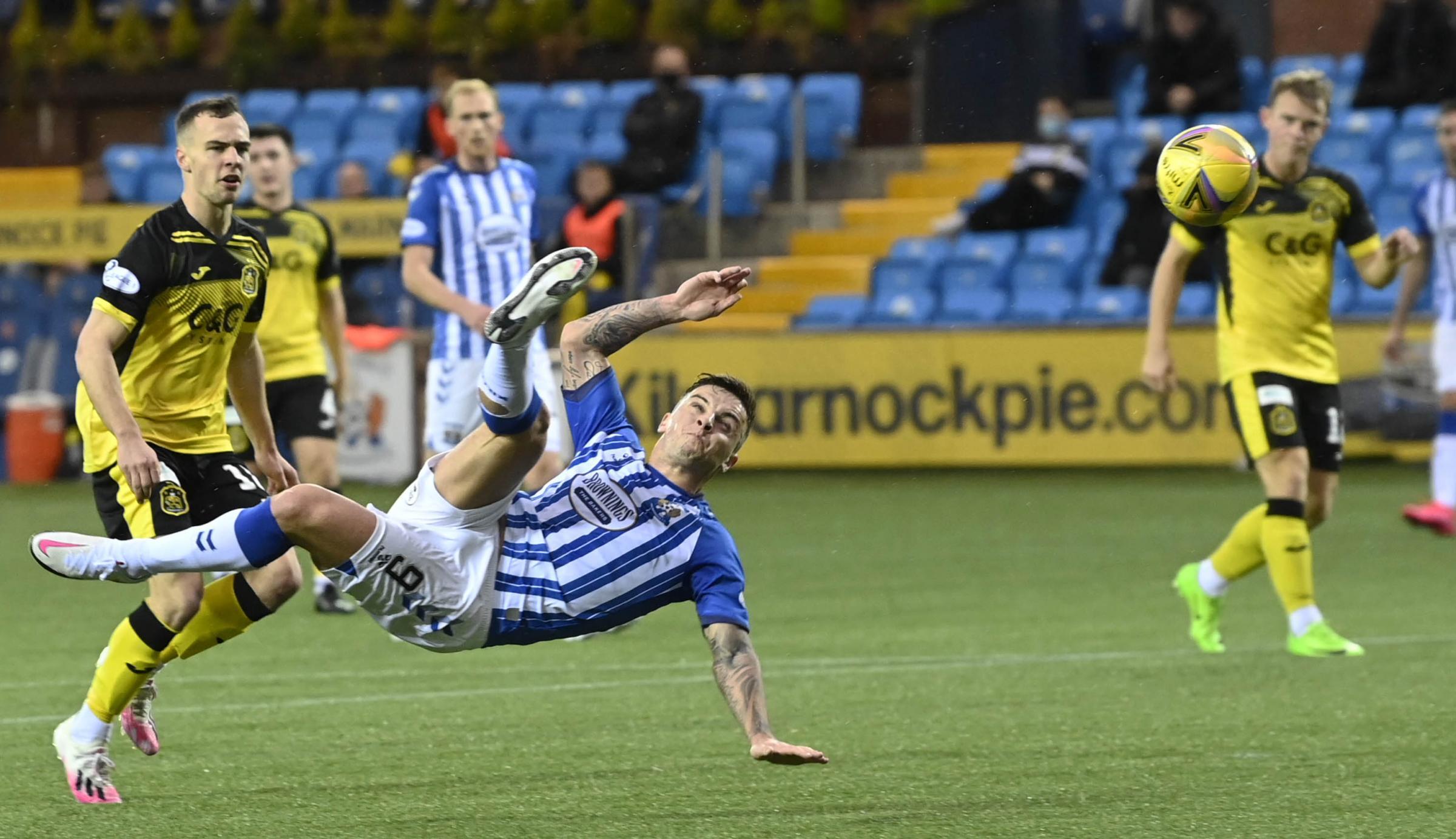 Jim Goodwin keen to push through deal for Kilmarnock's  Eamonn Brophy