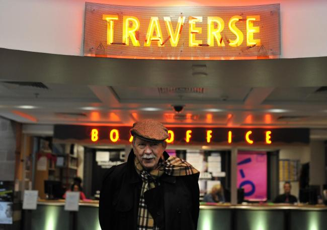 Jim Haynes at the Traverse Theatre, August 20, 2016;  Photo by Robbie Jack - Corbis/Corbis via Getty Images
