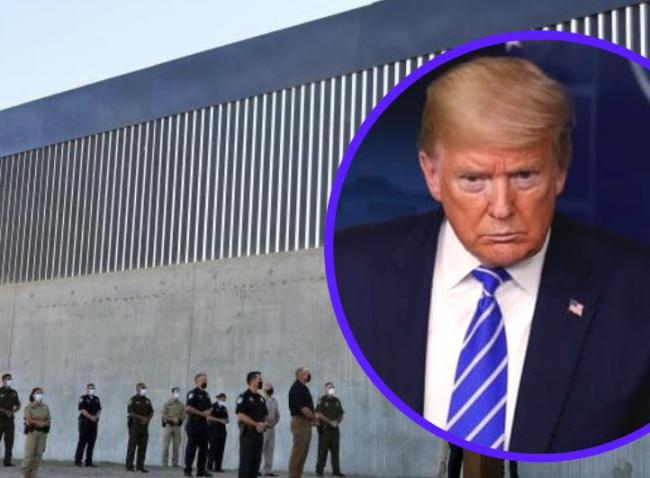 Donald Trump to visit Mexico border to mark completion of 400 miles of border wall