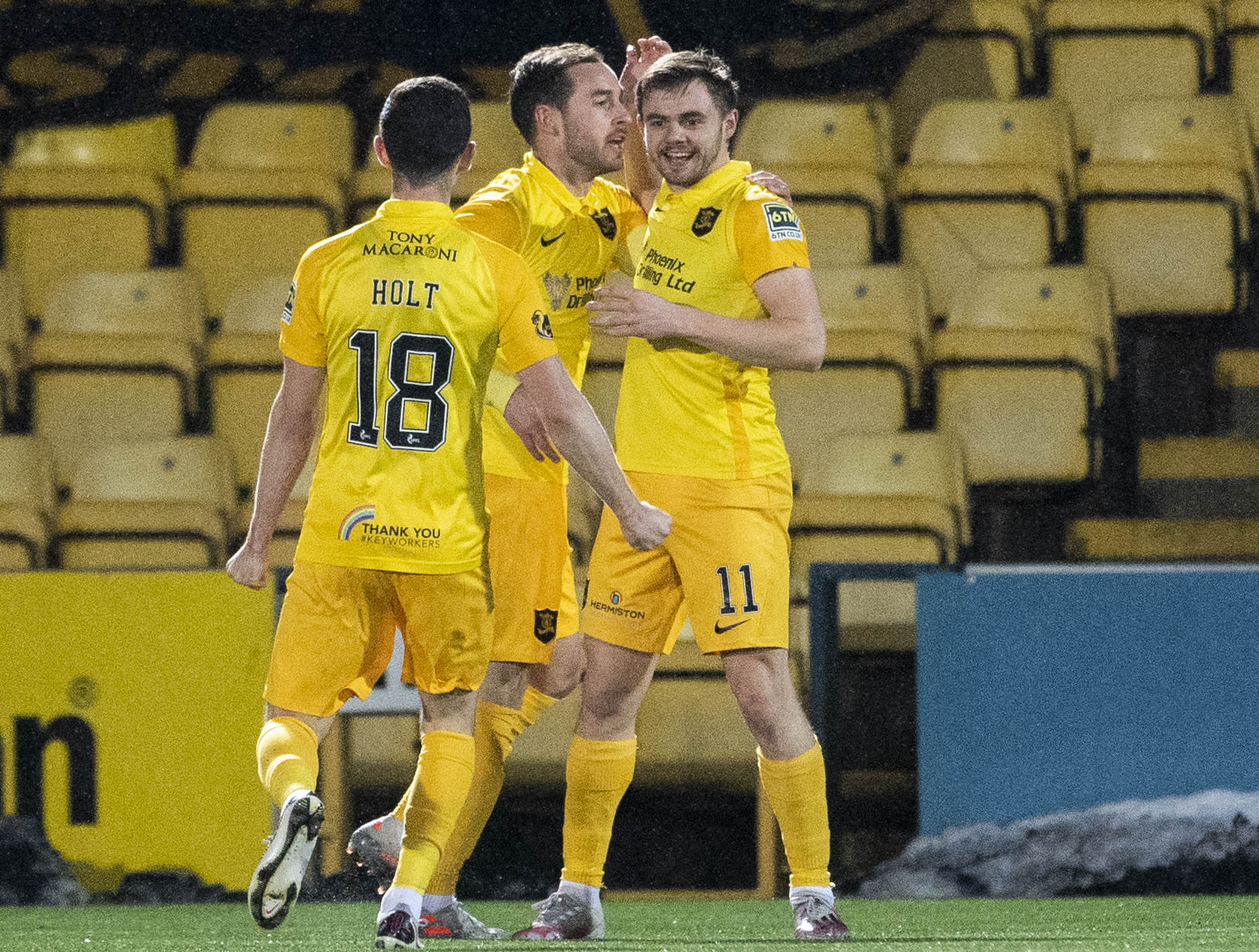 Livingston 3-1 Ross County: Forrest and Hamilton seal win