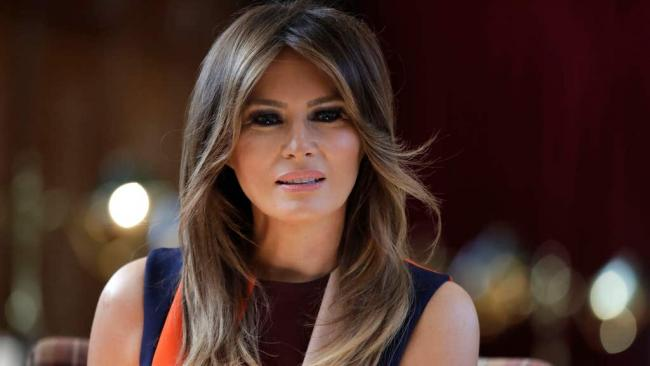 Melania Trump hits out at 'salacious gossip' and 'personal attacks' since rioters stormed Capitol