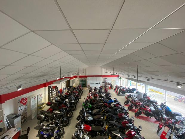 HeraldScotland: Ecosse Motorcycles showroom