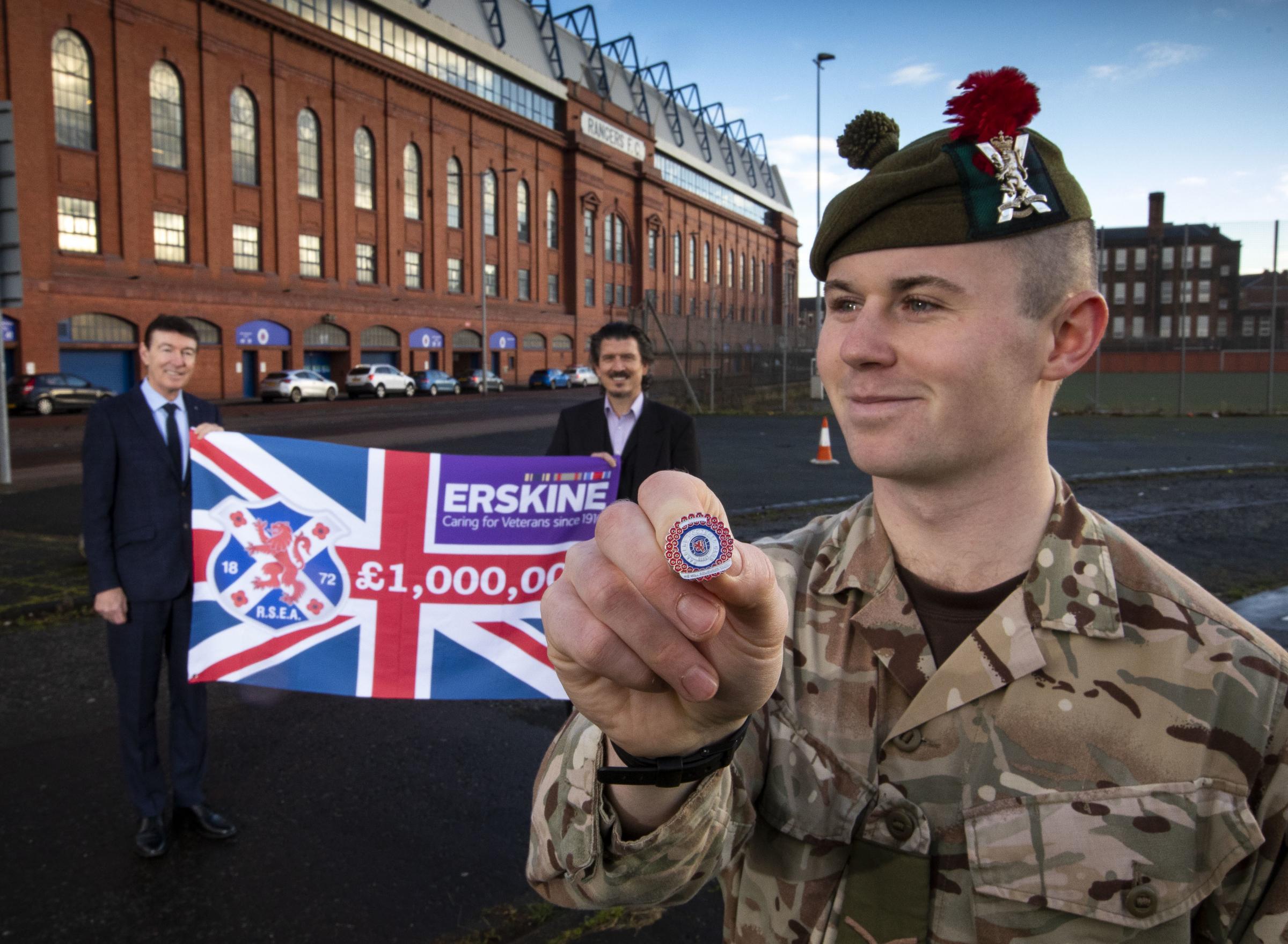 Rangers legends thank Ibrox fans as Erskine appeal breaks £1million barrier