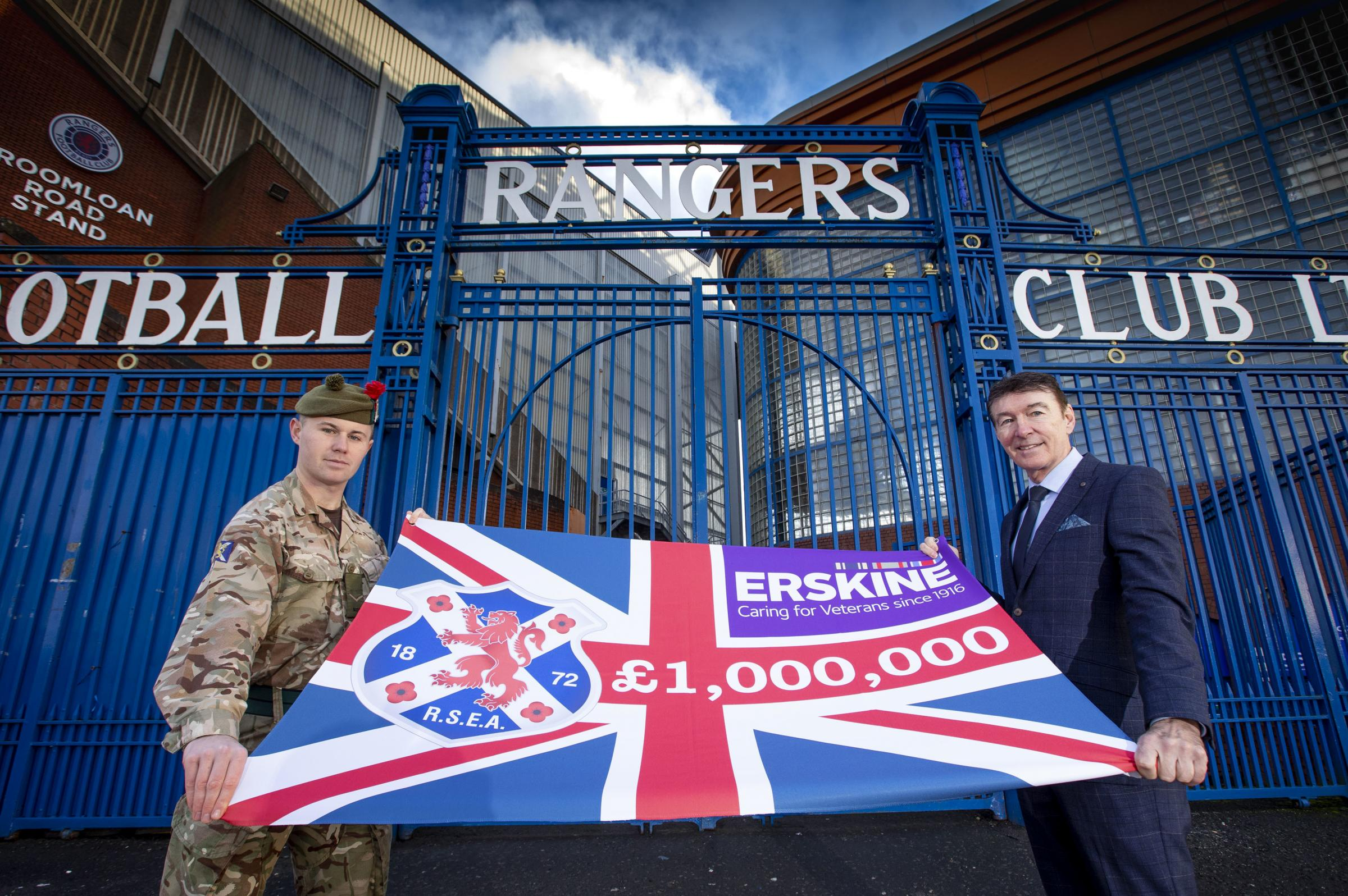 Gordon Smith pays tribute to veterans and Rangers support as RSEA hits £1million mark