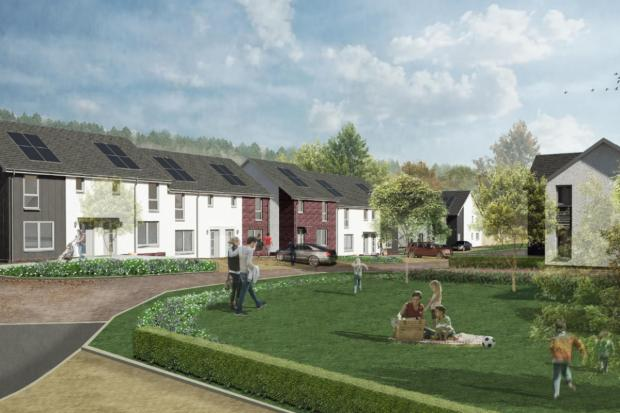 HeraldScotland: The development will cater for the needs of the local community by incorporating a range of housing designs.