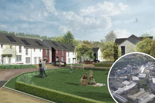 Work starts on 850-home project on site of former paper mill