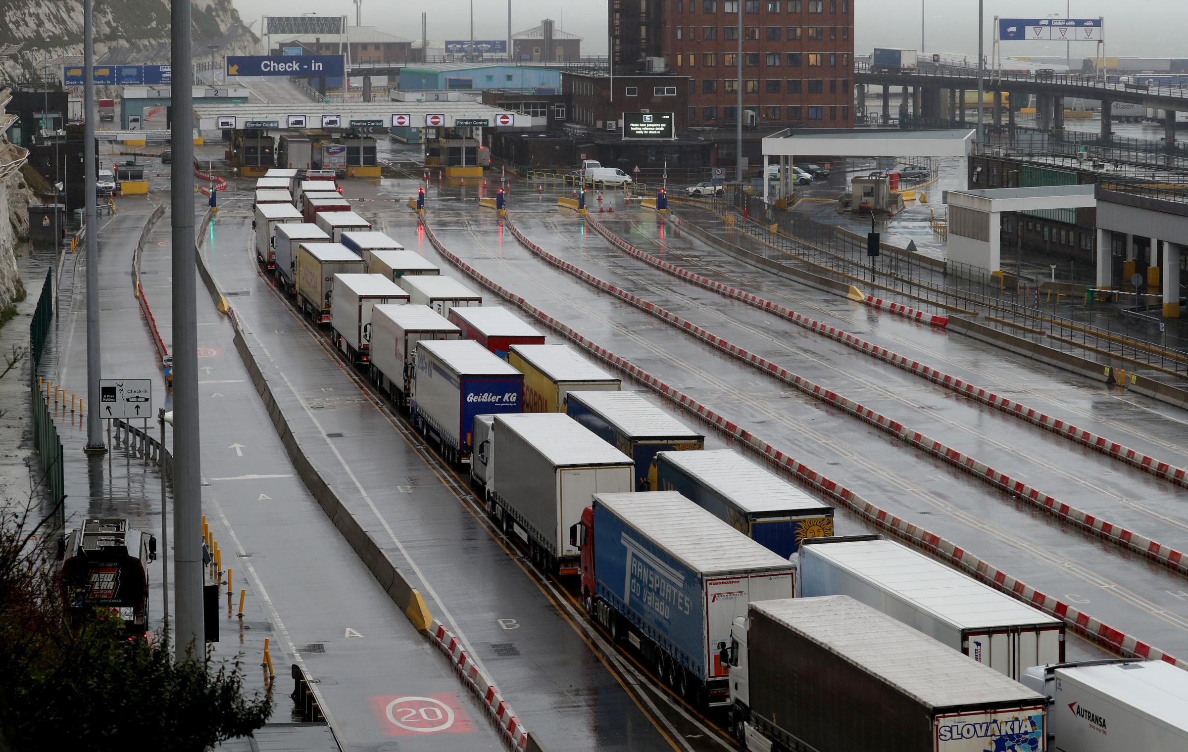Brexit damage: One in four small firms have halted exports to European Union
