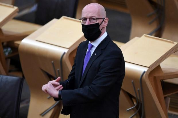 HeraldScotland: Education Secretary John Swinney.