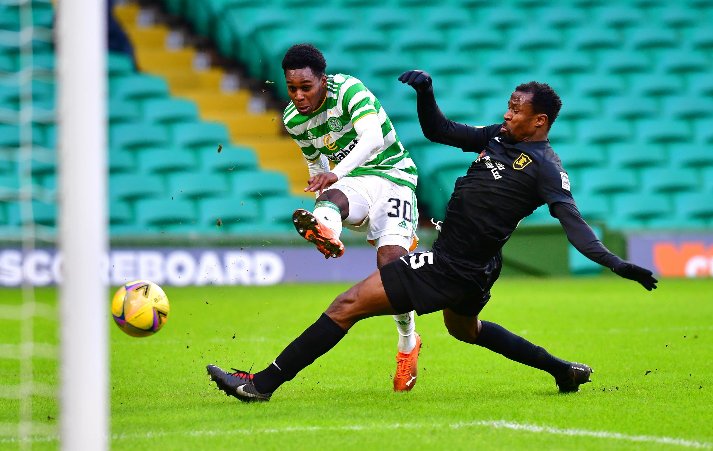 Jeremie Frimpong say there is no excuse for Celtic's dismal display against Livingston