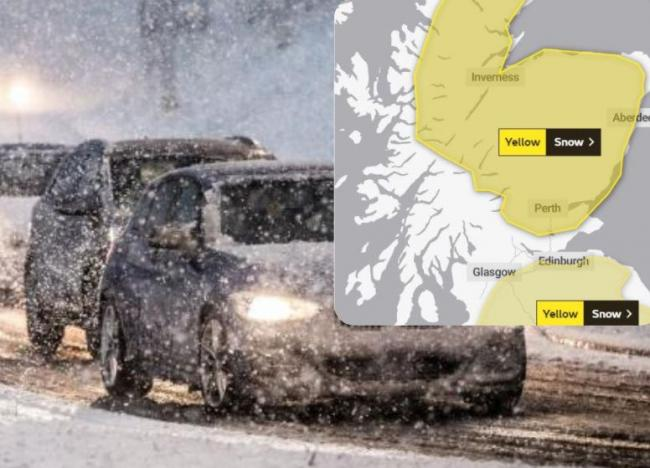 Scotland's weather: Snow warnings issued for much of the country