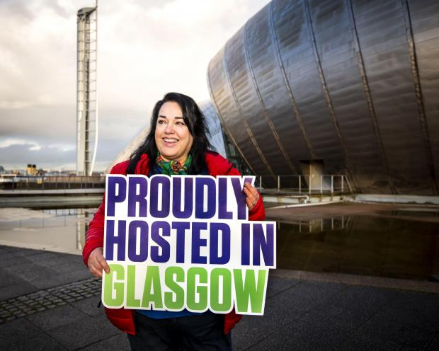 HeraldScotland: Karen Donaldson, from Cardonald, is a volunteer ambassador for COP26