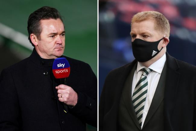Andy Walker on Sky Sports comms duty for Celtic's Livi clash despite furious Neil Lennon's apology demand