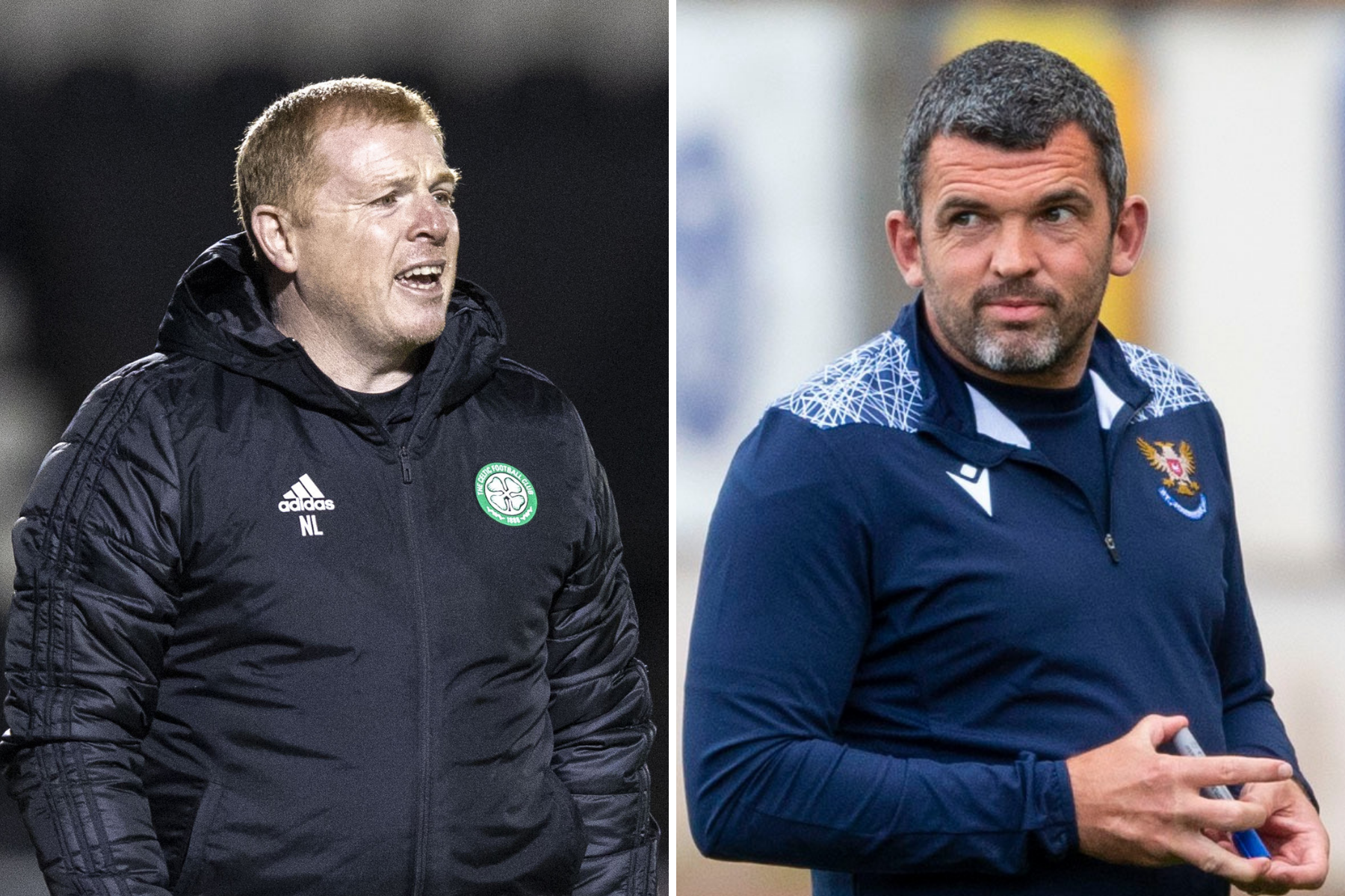 St Johnstone manager Callum Davidson responds to Celtic boss Neil Lennon's dressing room claim