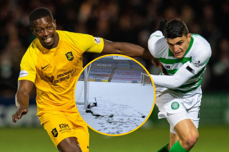 Livingston's Celtic clash to be played as scheduled with NO pitch inspection planned despite heavy snow
