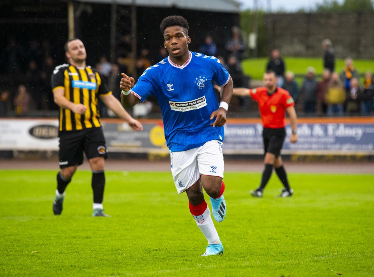 Rangers youngster Dapo Mebude leaves Ibrox on loan for Championship side Queen of the South
