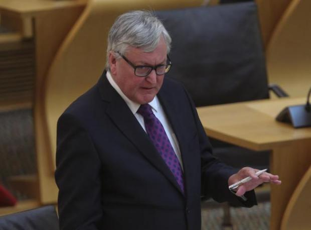 HeraldScotland: Rural Economy and Tourism Secretary, Fergus Ewing