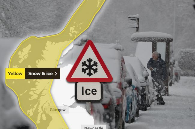Up to 10cm of snow for parts of Scotland this weekend as forecasters issue fresh warning